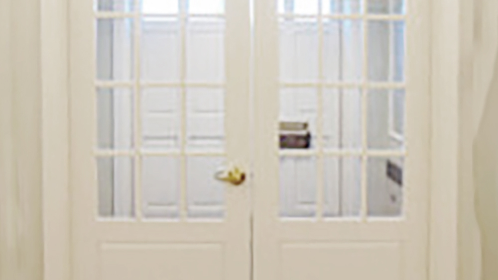 TSS bullet resistant Divided Lite Wood Doors